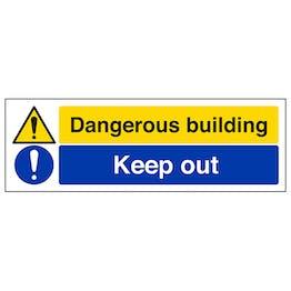 Dangerous Building / Keep Out - Landscape