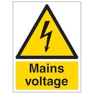 Mains Voltage - Portrait