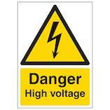 Danger High Voltage - A4