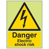 GITD Danger Electric Shock Risk - Portrait