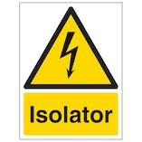 Isolator - Portrait