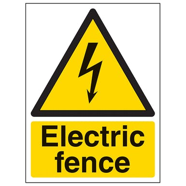 Electric Fence - Portrait