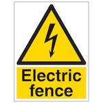 Electric Fence - Portrait