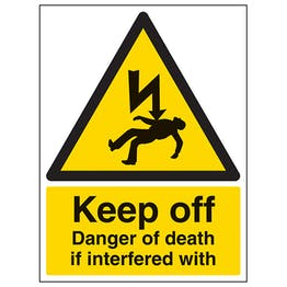 Keep Off Danger Of Death If Interfered With - Portrait