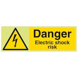 GITD Danger Electric Shock Risk - Landscape