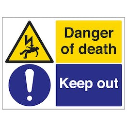 Danger Of Death / Keep Out