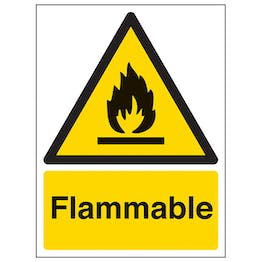 Flammable - Portrait