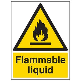 Flammable Liquid - Portrait