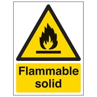 Flammable Solid - Portrait