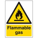 Flammable Gas - Portrait