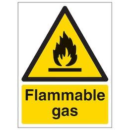 Flammable Gas - Portrait