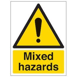 Mixed Hazards - Portrait