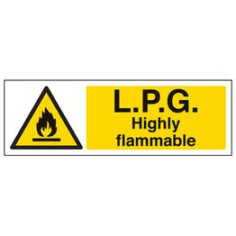 L.P.G. Highly Flammable - Landscape