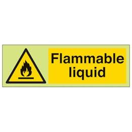 GITD Flammable Liquid - Landscape