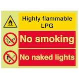 GITD Highly Flammable LPG