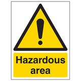 Hazardous Area - Portrait