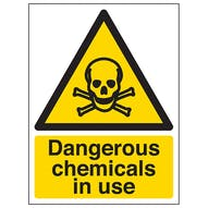 Dangerous Chemicals In Use - Portrait