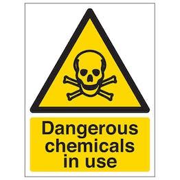 Dangerous Chemicals In Use - Portrait