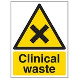 Clinical Waste - Portrait