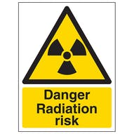 Danger Radiation Risk - Portrait
