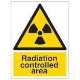 Radiation Controlled Area - Portrait