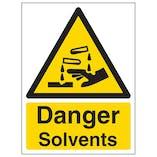 Danger Solvents - Portrait
