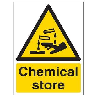 Chemical Store - Portrait