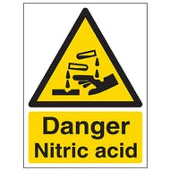 Danger Nitric Acid - Portrait