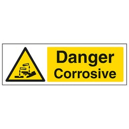 Danger Corrosive - Landscape