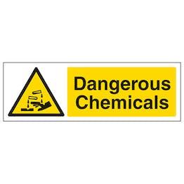 Dangerous Chemicals Corrosive - Landscape