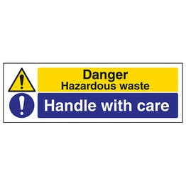 Hazardous Waste/Handle With Care - Landscape