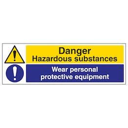 Hazardous Substances/Wear PPE