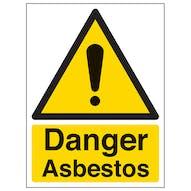Danger Asbestos - Portrait
