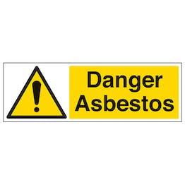Danger Asbestos - Landscape