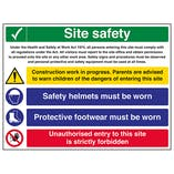 Multi Hazard Site Safety Protective Footwear - Large Landscape