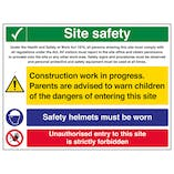 Multi Hazard Site Safety Safety Helmets - Large Landscape