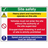 Multi Hazard Site Safety Heavy Plant & Machinery - Large