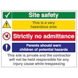 Multi Hazard Site Safety Very Hazardous Area - Large Landscape