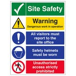 Site Safety Warning