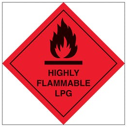 Highly Flammable LPG