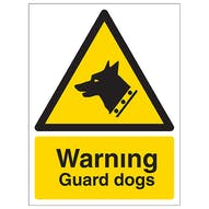 Security Notice - Warning Guard Dogs