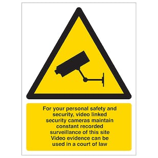 CCTV - For Your Personal Safety and Security