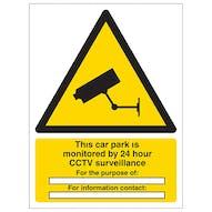 This Car Park Is Under 24 Hour Surveillance