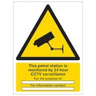 Petrol Station Under Surveillance