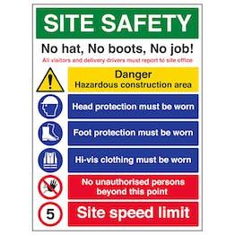 Site Safety / No Hat No Boots No Job