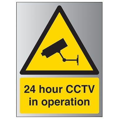Aluminium Effect - 24 Hour CCTV In...