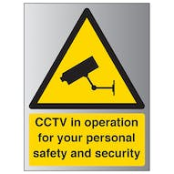 Aluminium Effect - CCTV In Operation...