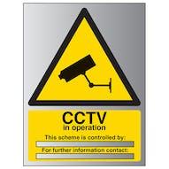 Aluminium Effect - CCTV In Operation Scheme...