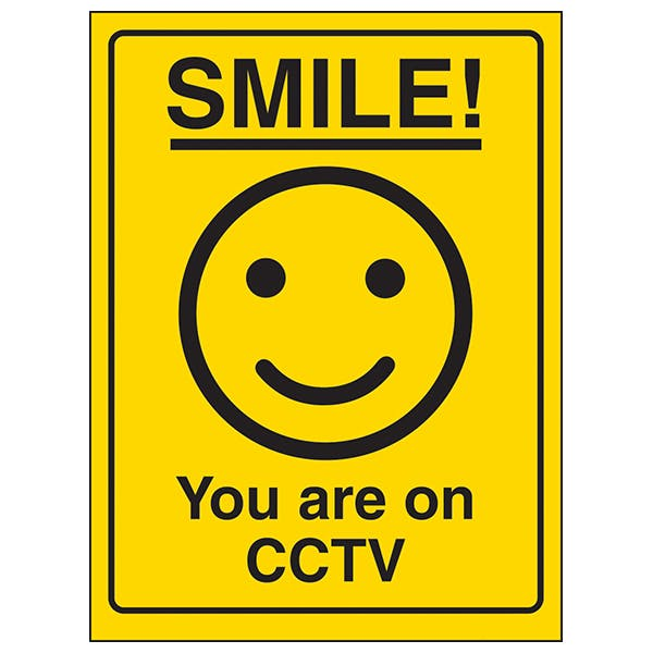Smile! You Are On CCTV