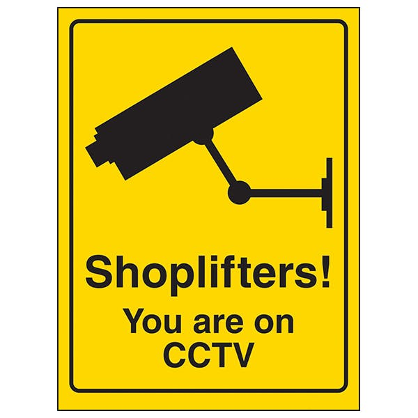 Shoplifters! You Are On CCTV
